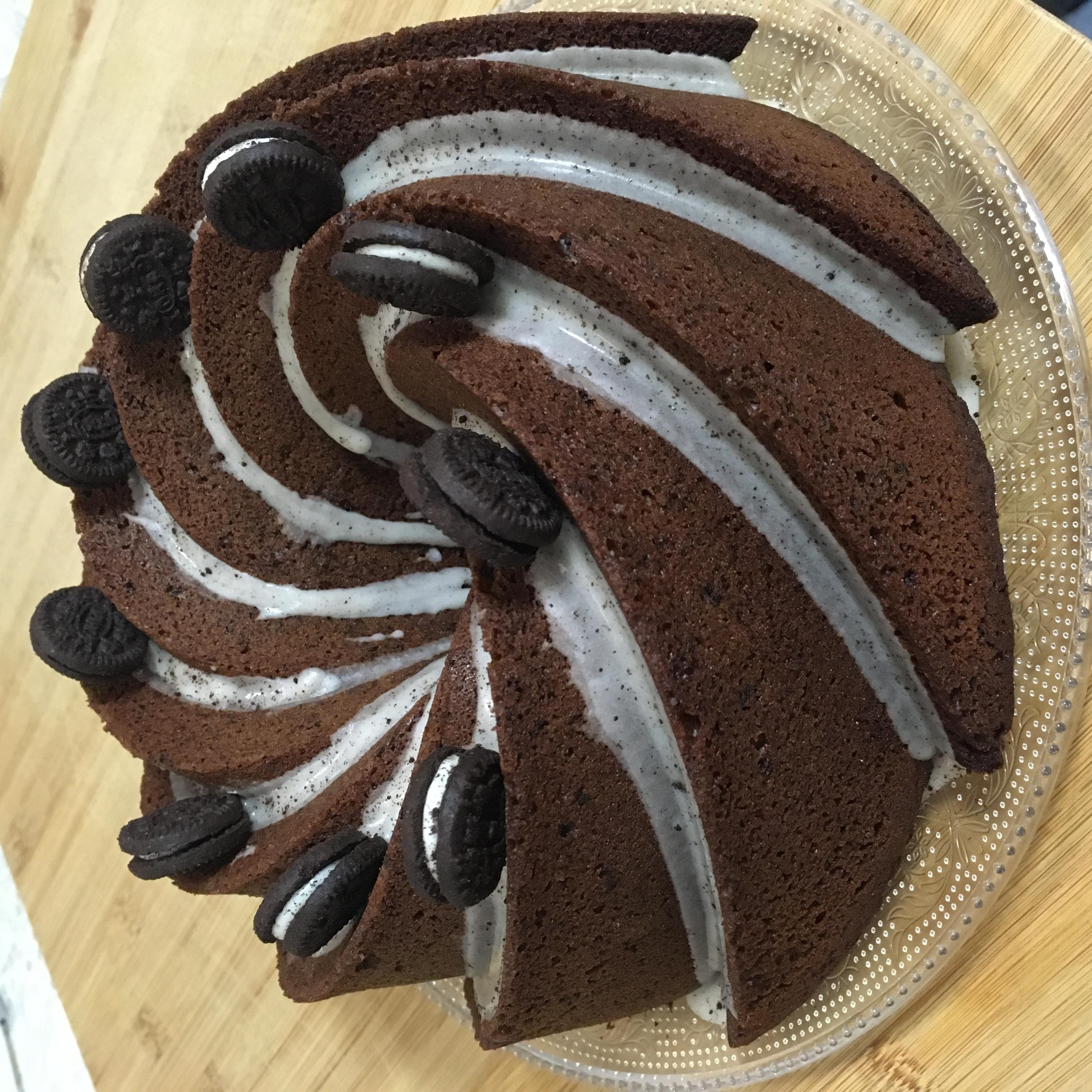 Bundt cake oreo